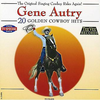 Gene Autry - 20 Golden Cowboy Hits [CD] USA import