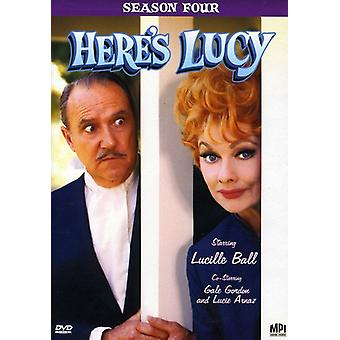 Here's Lucy: Season Four [DVD] USA import
