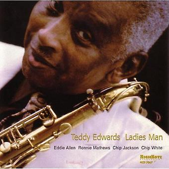 Teddy Edwards - Ladies Man [CD] USA import