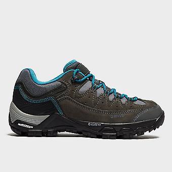 Nouveau Hi-Tec Women's Ox Belmont Low Walking Hiking Shoe Grey Dark