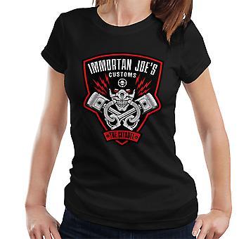Immortan Joes Customs Mad Max Fury Road Women's T-Shirt