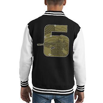 Seal Team zes Call Of Duty Kid's Varsity Jacket