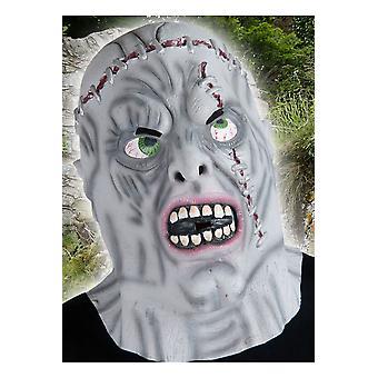 Halloween e horror zombie maschera grigio Tudor