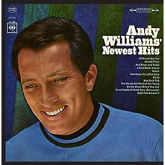 Andy Ailliams - Andy's Newest Hits [CD] USA import