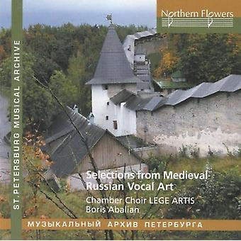 Abalian / Lege Artis Chamber Choir - Selections From Russian Medieval Vocal Art [CD] USA import