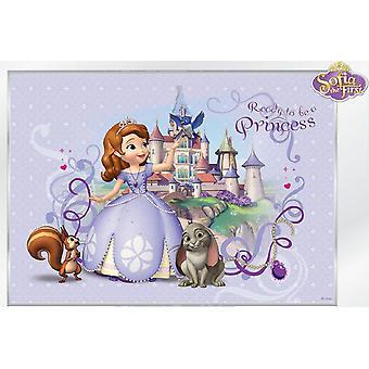 Disney księżniczka Sophia duże dekoracje ścienne 368x254cm