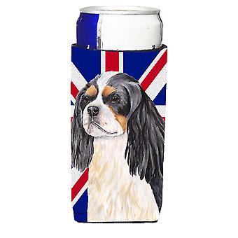 Cavalier Spaniel z angielski Union Jack flagi brytyjskiej Ultra napojów izolatorów