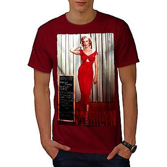マリリンの男性 RedT ワイシャツ |Wellcoda