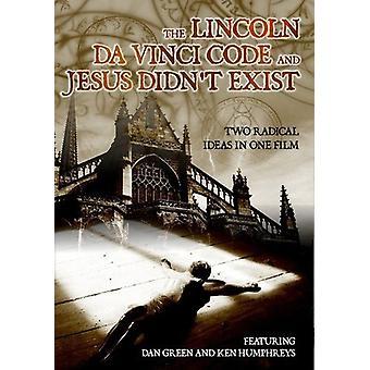 Lincoln Da Vinci Code & Jesus Didnt Exist [DVD] USA import
