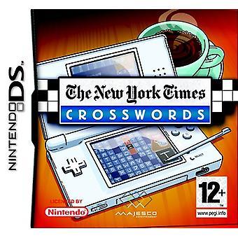 New York Times Crossword (Nintendo DS) - New