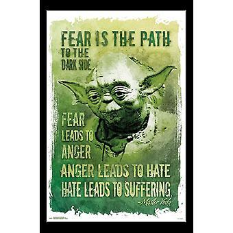 Star Wars - camino al lado oscuro Poster Print