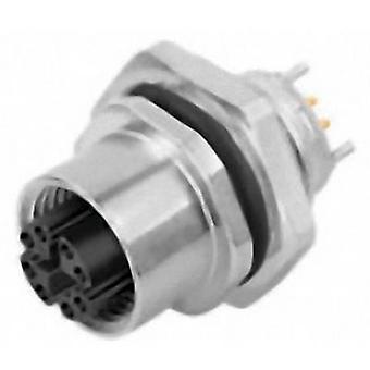 Binder 09 3782 95 08 anturi/toimi laite sisäänrakennettu liitin M12-pistoke, sisäänrakennettu No. nastojen (RJ): 8 1 kpl (s)