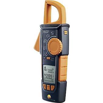 testo 770-3 Medidor de abrazadera, Multímetro de mano Digital CAT III 1000 V, Pantalla CAT IV 600 V (cuenta): 6000