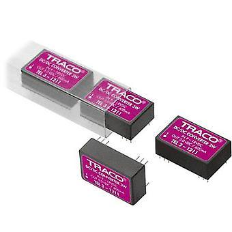 TracoPower תל 3-2412 DC/DC ממיר (הדפסה) 24 V DC 12 V DC 250 mA 3 W לא. של תפוקות: 1 x