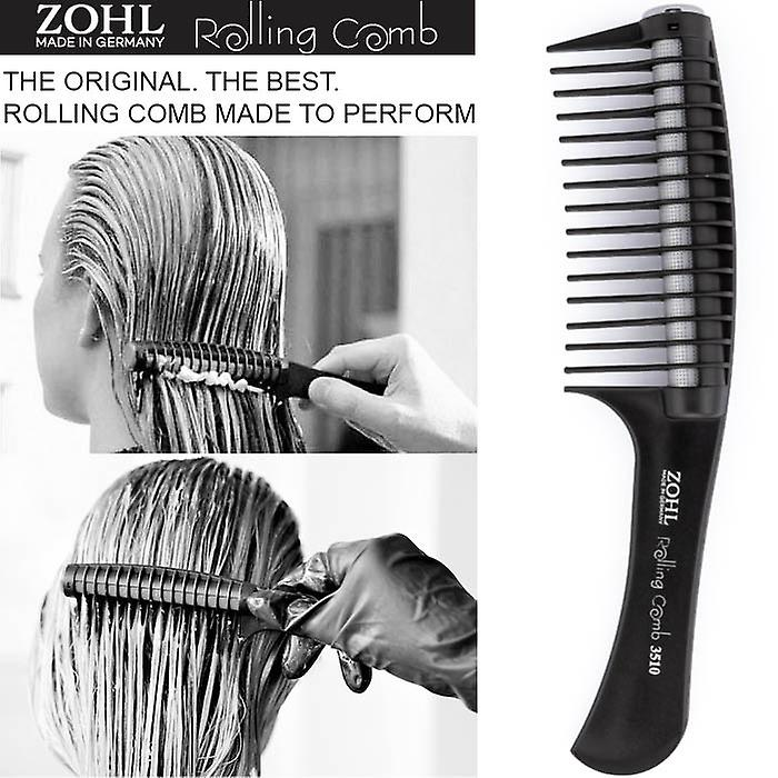 ZOHL Rolling Comb For Colouring & Hair Cosmetics