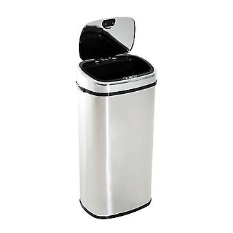 HOMCOM 68L Sensor Dustbin Stainless Steel Automatic Kitchen Waste Bin Silver