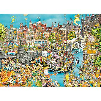 King Amsterdam King's Day Jigsaw Puzzle (1000 Pieces)
