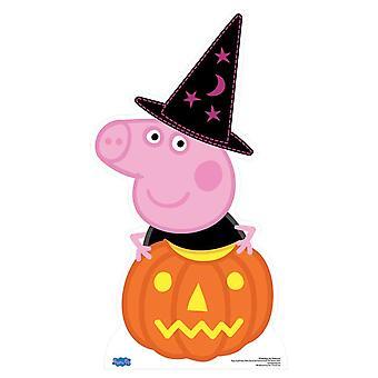 Peppa Pig Halloween Cardboard Cutout / Standee