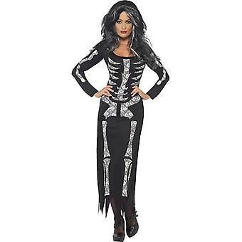 Sukienka szkielet kostium, UK 16-18