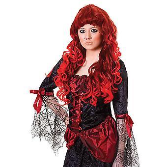 Cheryl Wig. Czerwony/Auburn.