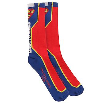 DC Comics Superman Stronger Socks