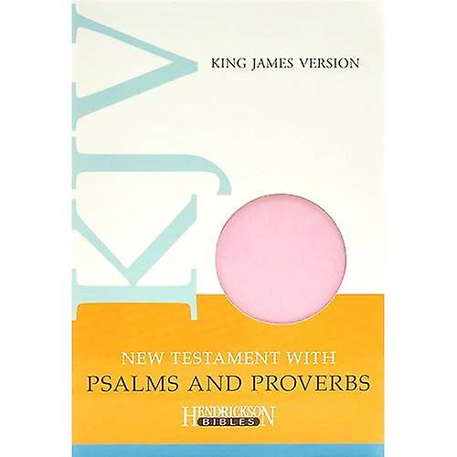 KJV New Testament with Psalms and Proverbs - Light Pink Flexisoft Leather: