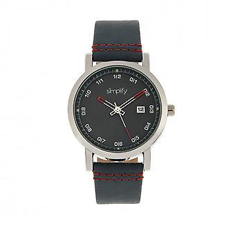 Vereenvoudigen van de 5300 Strap Watch - zilver/blauw
