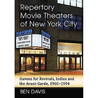 Repertoire bioscopen van New York City: paradijzen voor opwekkingen, Indië en de Avant-Garde, 1960-1994