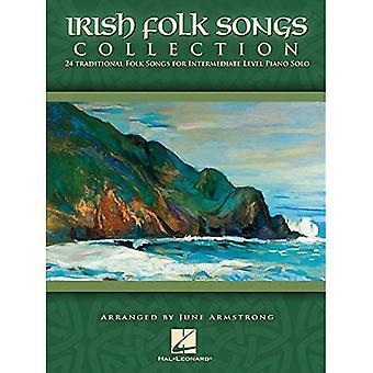 Irsk folkeviser samling: 24 tradisjonelle folkesanger middels nivå Piano Solo