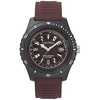 Nautica Analogueico Watch quartz men with Silicone strap NAPIBZ010