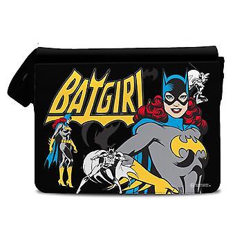 DC Comics Retro Comic Book Style Batgirl Messenger Bag