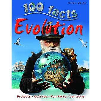 100 Facts Evolution by Sally Morgan - 9781848105638 Book