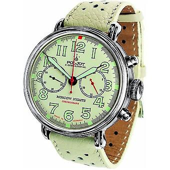 Poljot International Men's Watch Moscow Nights Hand lift chronograph 2901.1940963