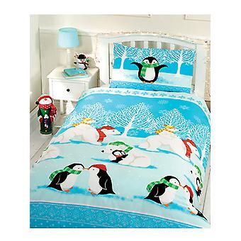 Christmas Cuddles Duvet Cover & Pillowcase Set