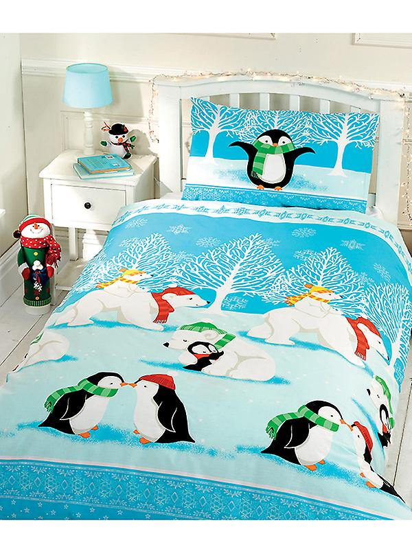Christmas Cuddles Duvet Cover & Pillowcase Set