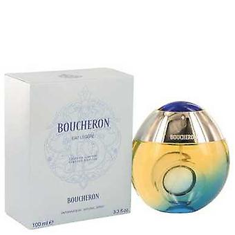 Boucheron Eau Legere By Boucheron Eau De Toilette Spray (blue Bottle Bergamote Genet Narcisse Musc) V728-526094