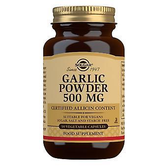 Solgar Ajo En Polvo 500 mg Vegicaps 90 (1197)