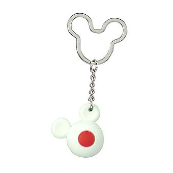 Key Chain - Disney - Mickey Flag Icon Ball Key Ring - Japan New 85722