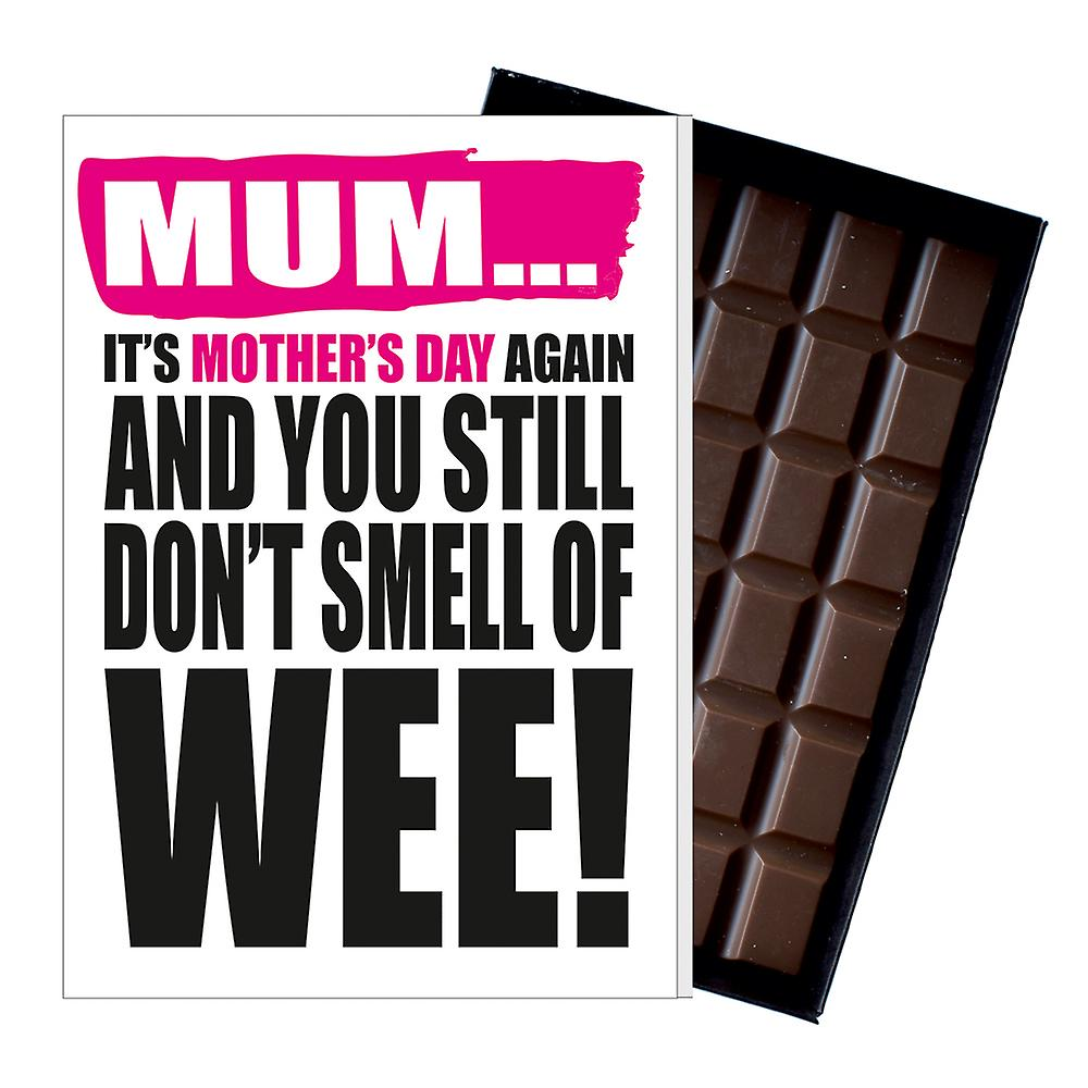 Funny Mother's Day Gift Boxed Chocolate Present Rude Greeting Card For Mom Mum Mumy MIYF109