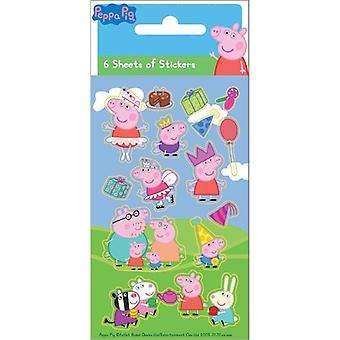 Greta Gris/Peppa Pig, stickers-Party