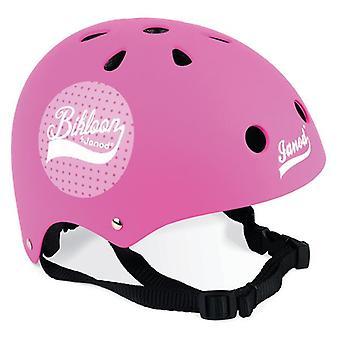 Janod Matte Pink Helmet 3-6 yrs