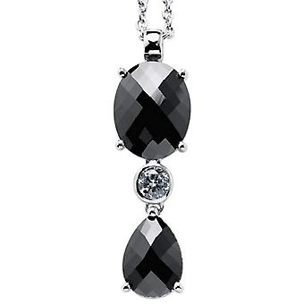 Carlo Monti JCM1058-421 - Chain with Women's Pendant with Cubic Zirconia - Silver Sterling 925