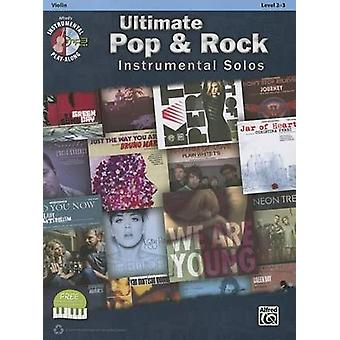 Ultimate Pop & Rock Instrumental Solos for Strings  - Violin - Book &