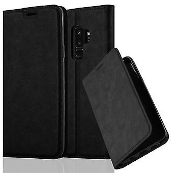 Cadorabo tilfældet for Samsung Galaxy S9 PLUS Case Cover-telefon tilfældet med magnetisk lukning, stativ funktion og kort sag-sag Cover sag sag case sag bog folde stil