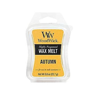 WoodWick doftande mini Hourglass Wax Melt höst