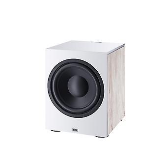 Heco Aurora sub 30 A, white, active bass reflex subwoofer 1 piece