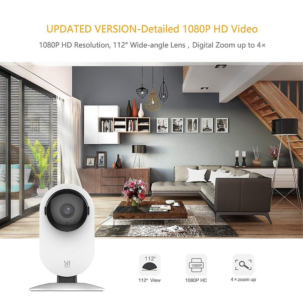 YI Home Camera 1080p-Family Pack 4 in 1