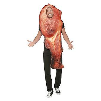 Traje de Fantasia de Bacon Mens (Um Tamanho)