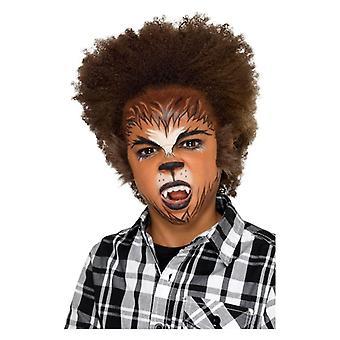 Jungen Werwolf Make-up Kit Halloween Gesicht Farben
