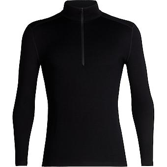 Icebreaker 260 Tech LS Half Zip - Black